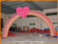 cheap oxford advertising inflatable wedding arch for entrance