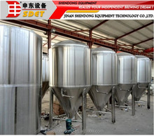 Stainless Steel Fermentation Tank/ used brewery equipment for sale,the price fermentation tank