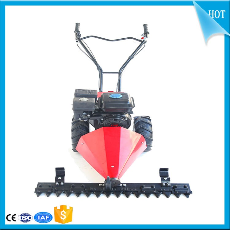 6.5HP Double wheels drive grass mowing machine/ Level mowing weed trimmer