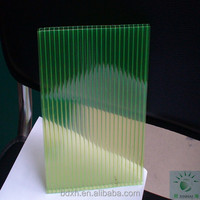 green plastic ceiling panel glow plastic sheet for raffle
