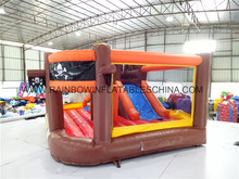 China Supplier Pirate Small Indoor Inflatable Bouncer Slide