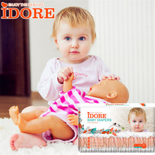 Best selling New product Children Diapers IDORE high absorption Disposable unisoft Baby Diapers
