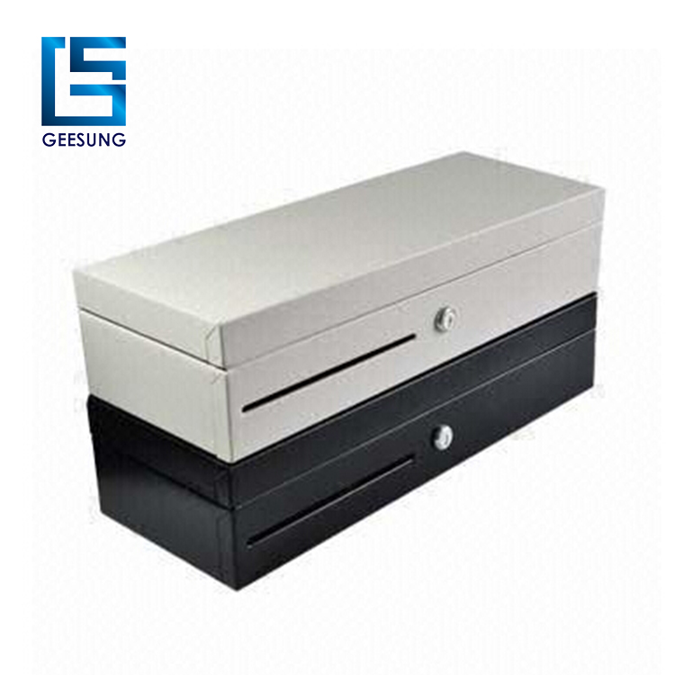 hot-sale adjustable and 8coin removable 6.7 inch pos flip top cash drawer CR-170H