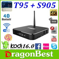 Ota update Original Kodi 16.0 Quad Core Tv Box T95 2g 8g 4k/android Google Android 5.1 T95 Tv Box