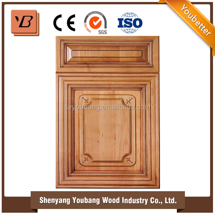 Best Sale New Design High Quality Cheap Cherry Wood Kitchen Cabinets With Wood Door Modern