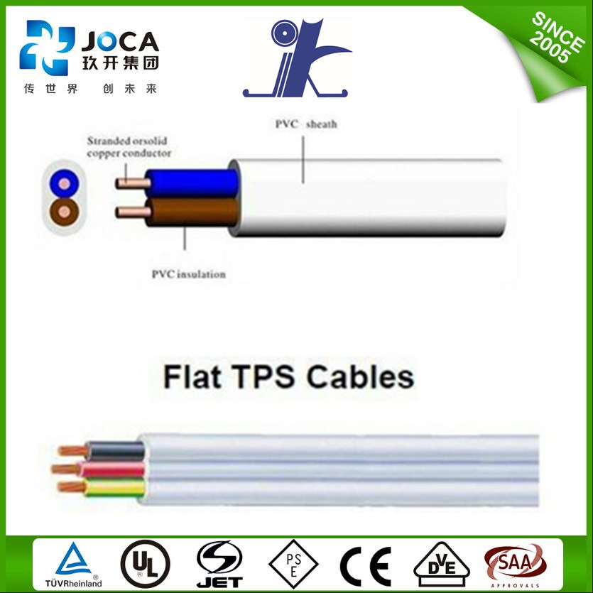 Flat Tps Cable : Jiukai fire alarm flat tps electrical cable buy