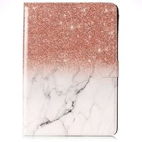 Fashion Case for iPad 9.7(2017) Hit Rock Color Side Flip Wallet Style PU Leather + Soft TPU with Card Holder Stand and Magnetic