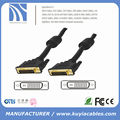 high speed Gold plated cable DVI to DVI 24+1 male to male 3m 5m 10m