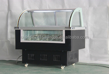 manufacture sale ice cream display case/gelato freezer for sale