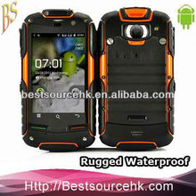 Android Waterproof Outdoor Cell Phone GPS WiFi Dual Camera G-sensor S05 Shiri