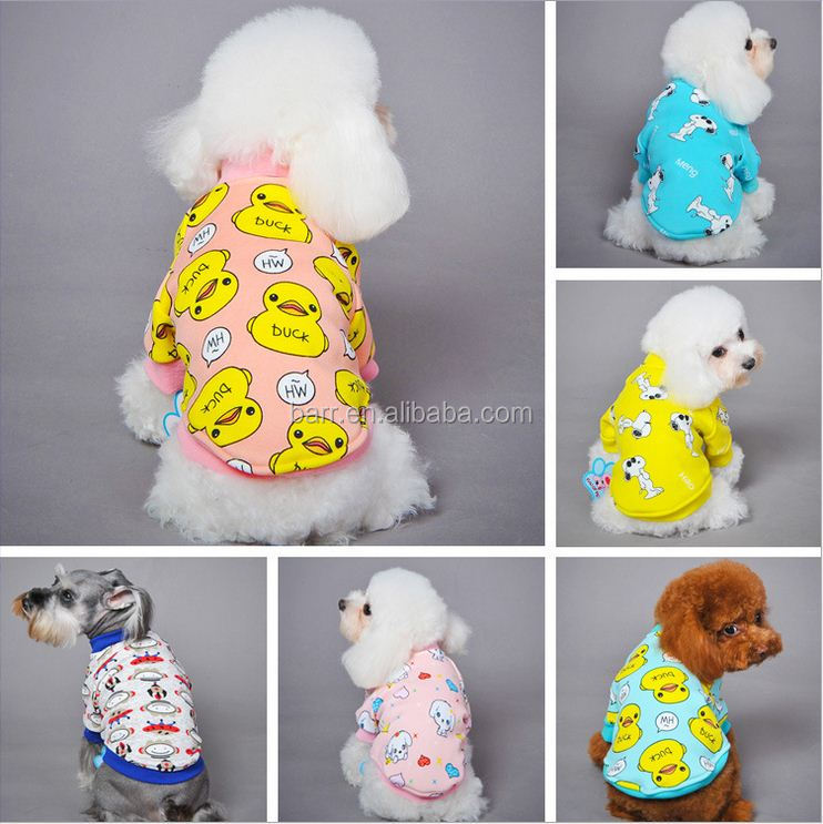 New winter Cartoon fleece dog pet product clothing supplies gift