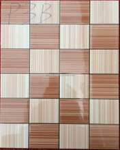 popular decorative white brown color 200x300 ceramic wall tiles