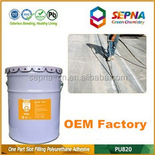 OEM professional-grade cement color single component Self Leveling polyurethane driveways high durability sealant