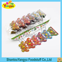 Yummy special butterfly pressed candy delicious mix super sour candy