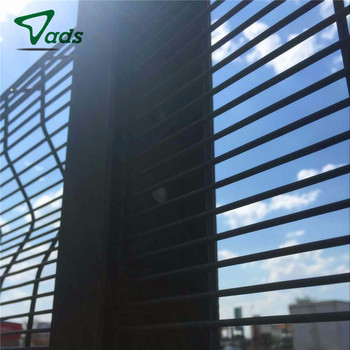 High quality 358 security fence anti climb fencing barbed wire mesh safety airport fence