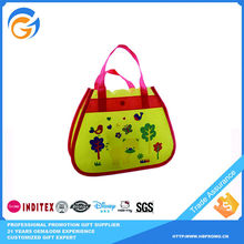 Hot Sale Yellow School Shopping Bags Plastic Bag
