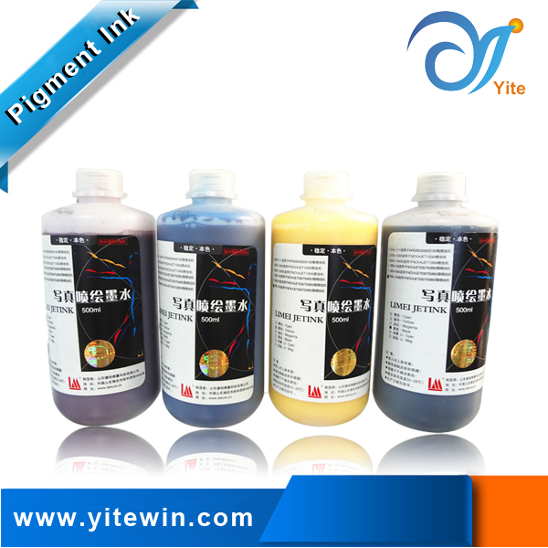 Smooth water based outdoor printer ink Novajet 750 pigment ink for Novajet 750 printhead
