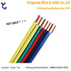 House wiring single core 0.5mm 0.75mm 1mm copper electric wire supplier in malaysia