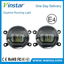 For Renault Fluence fog lamp with drl , super bright drl for renault clio fog lamp fog light