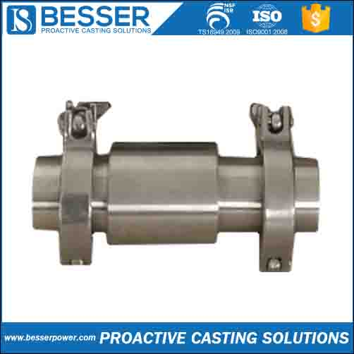 flowmetre shell 1.4305 stainless Q345B cast iron 4130 low carbon steel silica sol lost wax casting es door handle