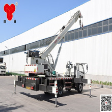 8 ton dump truck with crane mini truck mounted crane