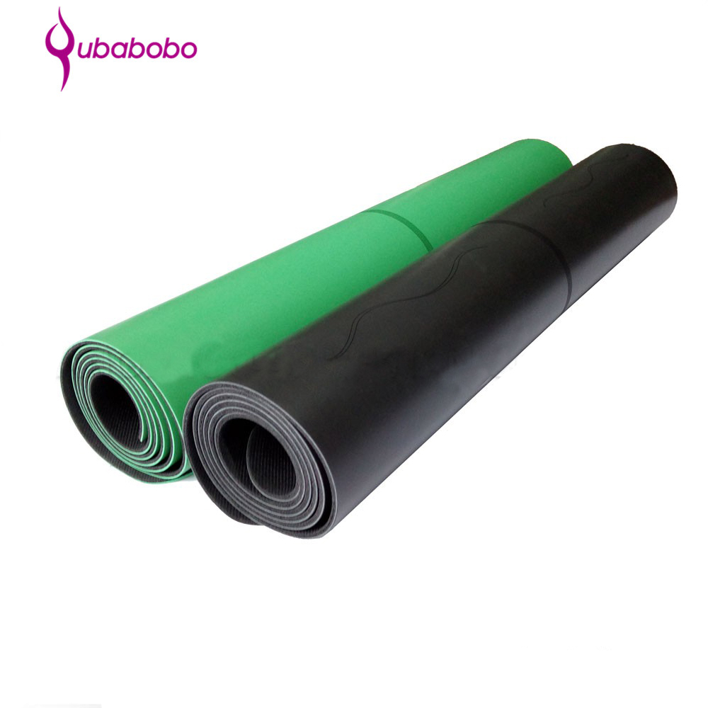 High Quality 4mm Natural Rubber PU Yoga Mat For Fitness Widely Used
