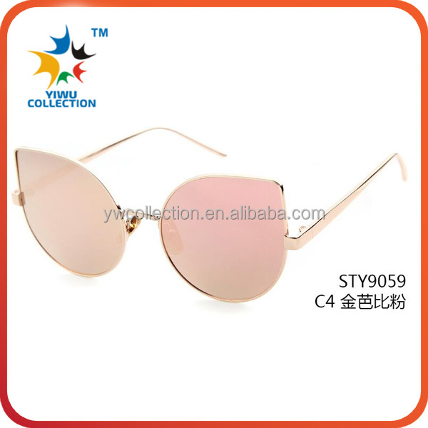 2016 top selling italy design wholesale custom logo sunglasses