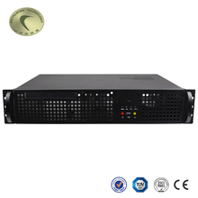Custom Fanless Server Embedded Industrial Support 2*2.5''HDD IPC Pc Mini Itx Case Metal Computer Chassis