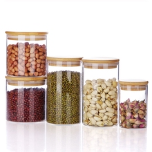 Hot-selling Heat Resisting Airtight Candy Jars Cheap Glass Jars For Canning
