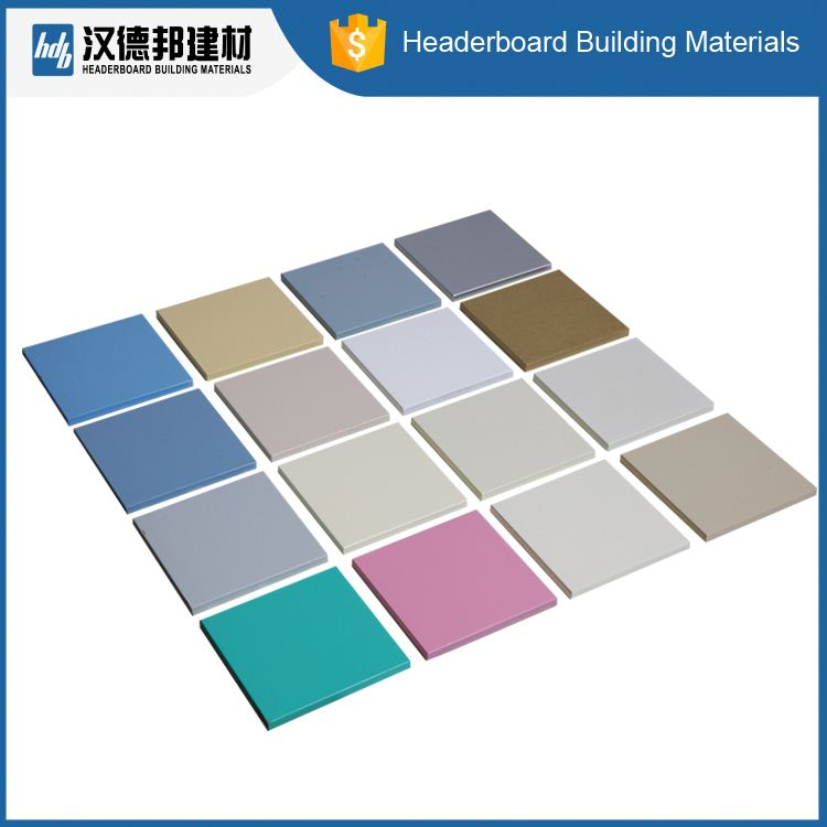 Interior decorative fiber cement cladding board