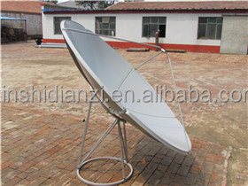 low price c band satellite dish antenna c band 120cm (4 feet) satellite dish antenna