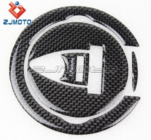 10.5cm Diameter Carbon Fiber Motorcycle Fuel Tank Stickers Gas Tank Stickers for Motorcycles Diesel Fuel Tank Stickers Protector