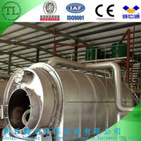 Non-pollution equipment of tire recycling production line