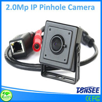 2.0MP IP Pinhole Camera with extra microphone ,Real time 30fps mini wifi ip camera