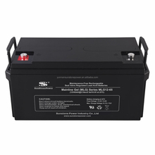 Sunstone manufacturer Deep Cycle Battery 12V 65ah Gel Solar Battery High Performance Best Quality Solar Power Battery