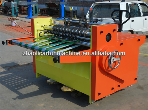 caton box making machine, Top seller 800mm High Speed Auto Clapboard Machine
