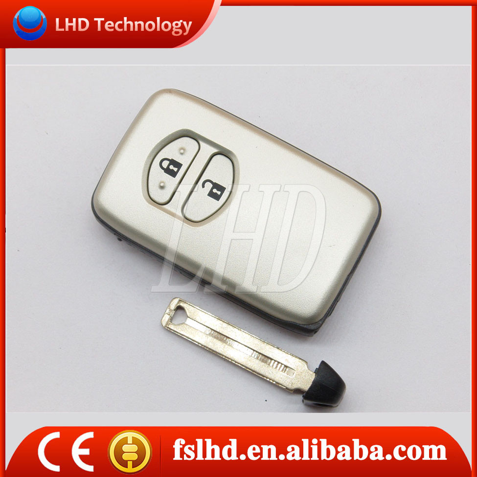 Toyota smart camry corolla fob 2 buttons for toyota key