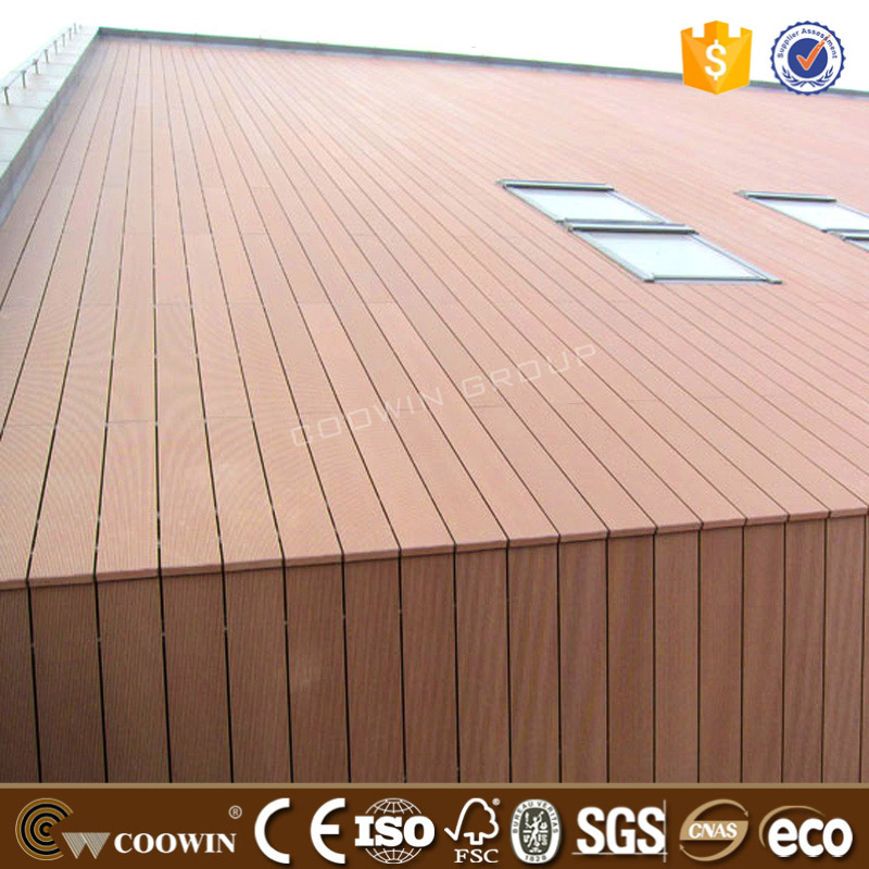 Waterproof wpc materials prefabricated exterior wood wall panels