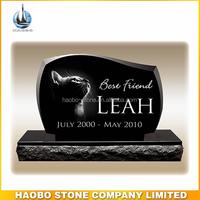 Absolute Black Granite Pet Grave Markers