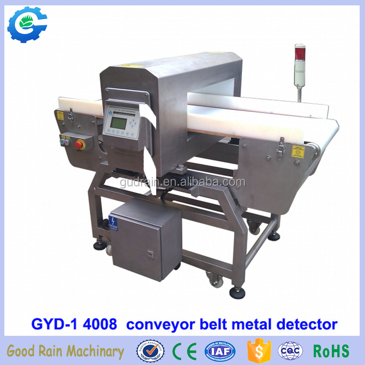 Hot selling Conveyor belt metal detector for food safety