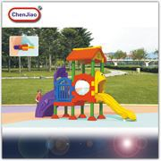 EN1176 Standard Kindergarden/Playcenter/School/Yard Plastic Kids Outdoor Playground