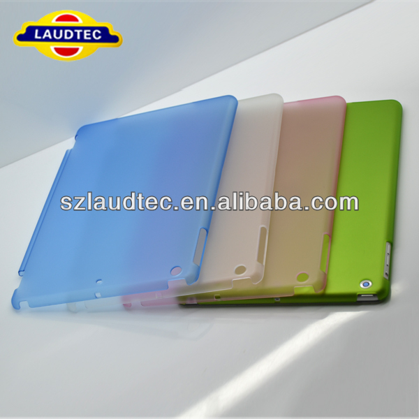 Matte Hard Case Accompany Smart Cover for iPad Air
