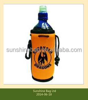 2014 hot selling Cheap promotional Neoprene water bottle cooler with customized logo