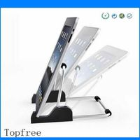 ABS and Aluminum popular design Foldable bed desk tablet pc stands