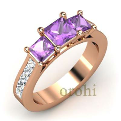 HG332-Amethyst-R-1 gram gold jewellery india,gold covering fashion jewellery,traditional south indian jewellery