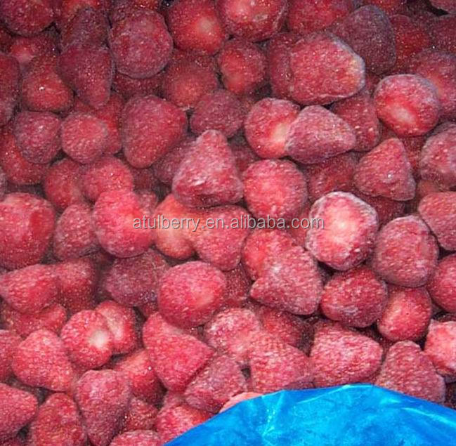 2017 China new Crop frozen IQF whole Strawberry with Factory Price