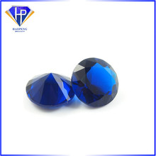 Faceted Blue Glass Gems For Jewelry Decoration