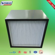 Aluminum Profiles High Efficiency H13 Filter For Central Air Conditioner