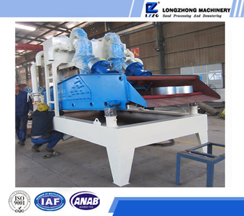 High efficiency fine sand extraction machine from slurry water in sand process