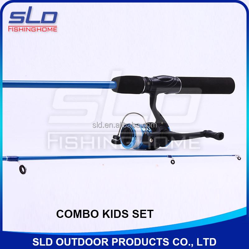 Kids fishing rod and reel fishing combo set for ready to for Youth fishing rod and reel combo
